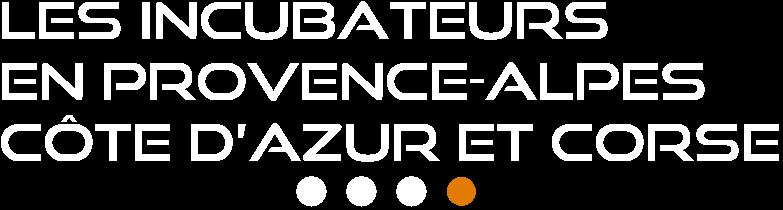 Les incubateurs en Provence-Alpes-Côte d'Azur et Corse